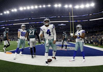 APTOPIX Eagles Cowboys Football