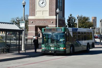 DCTA bus stock photo