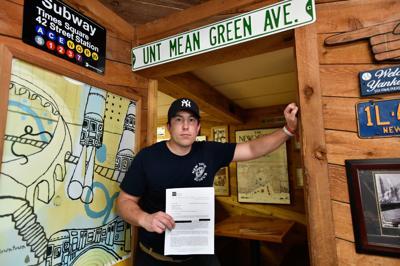 Hunter Christensen, owner of New York Sub Hub