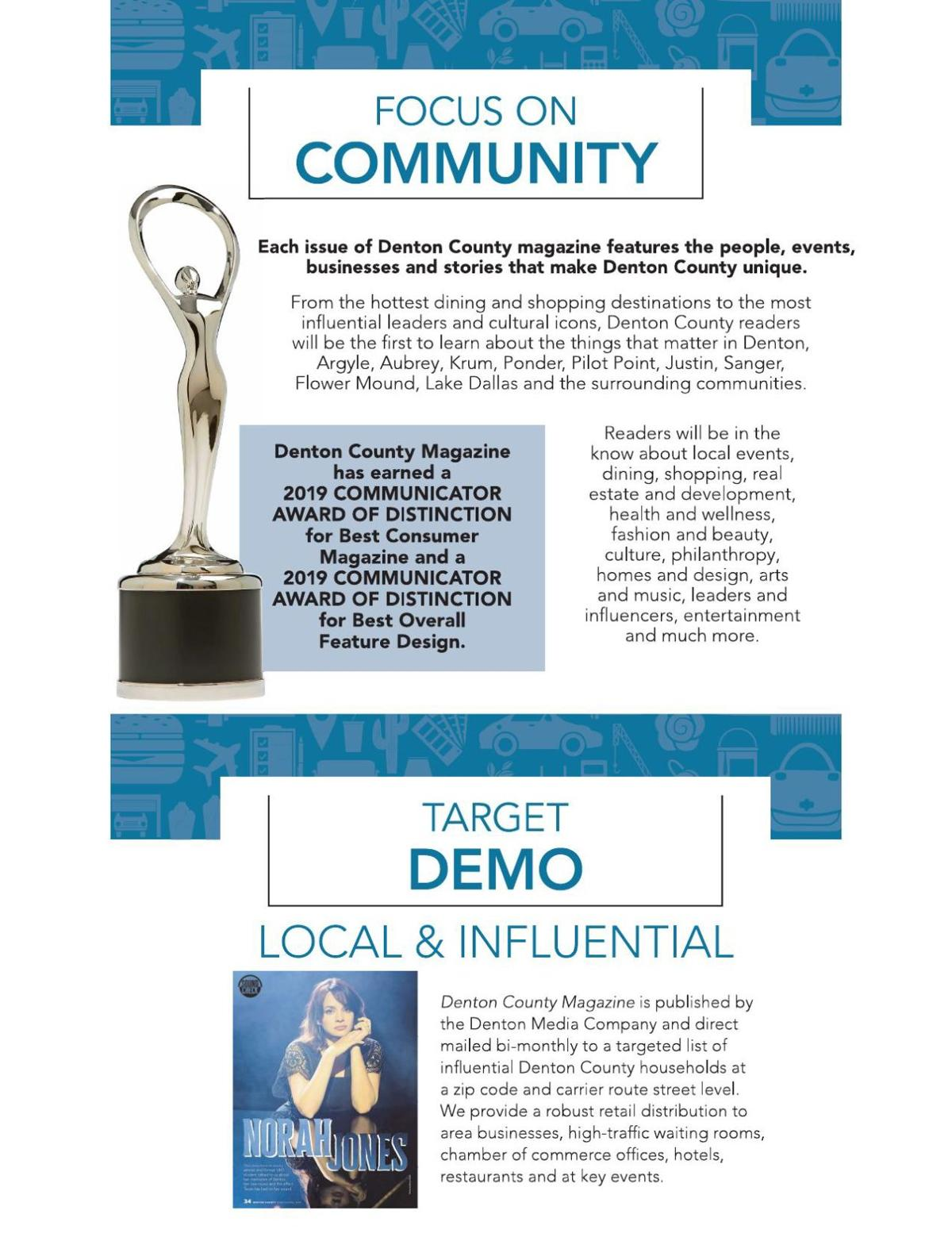 Focus on Community and Awards