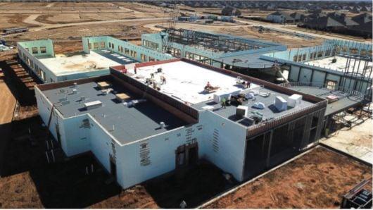Jackie Fuller Elementary School aerial view