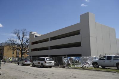 NCTC parking garage