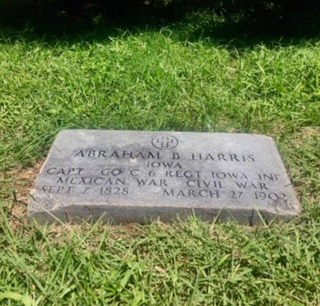 DRC_Headstone, Abraham Harris.jpg