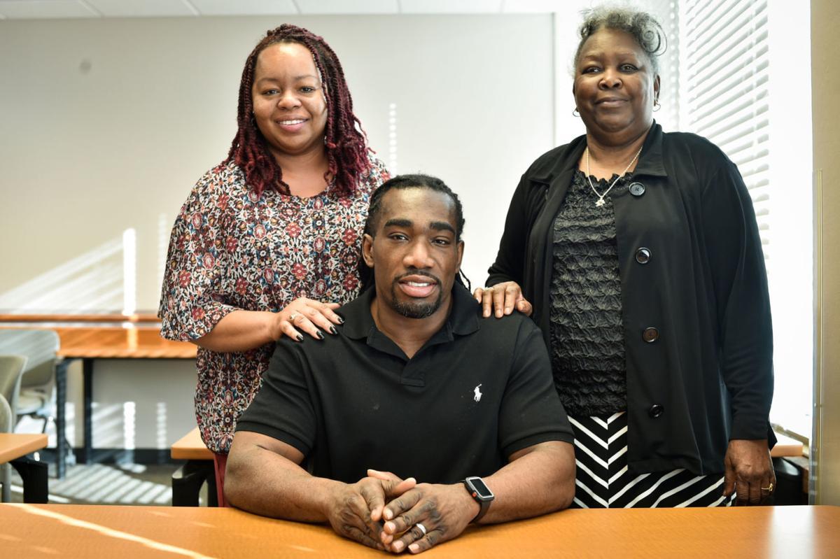 Ryan Matthews and family
