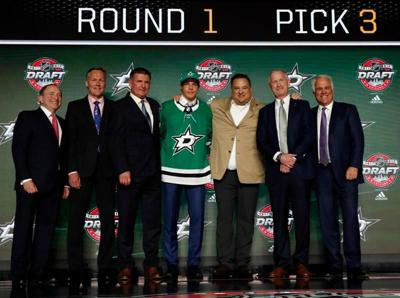 Vegas picks Glass, Stars take two in 1st round of draft