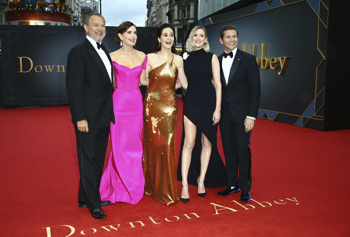 APTOPIX Britain Downton Abbey World Premiere