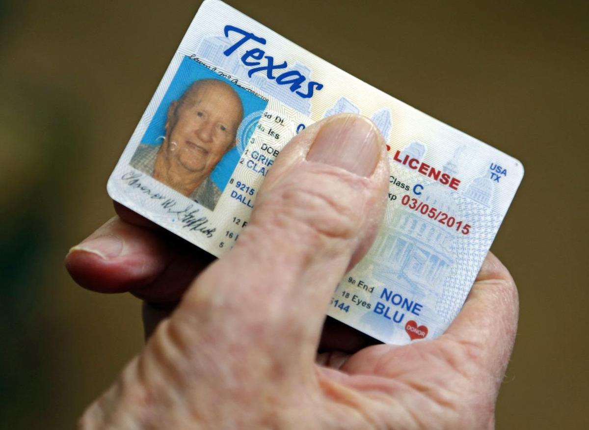 Watchdog -- Texas driver's license