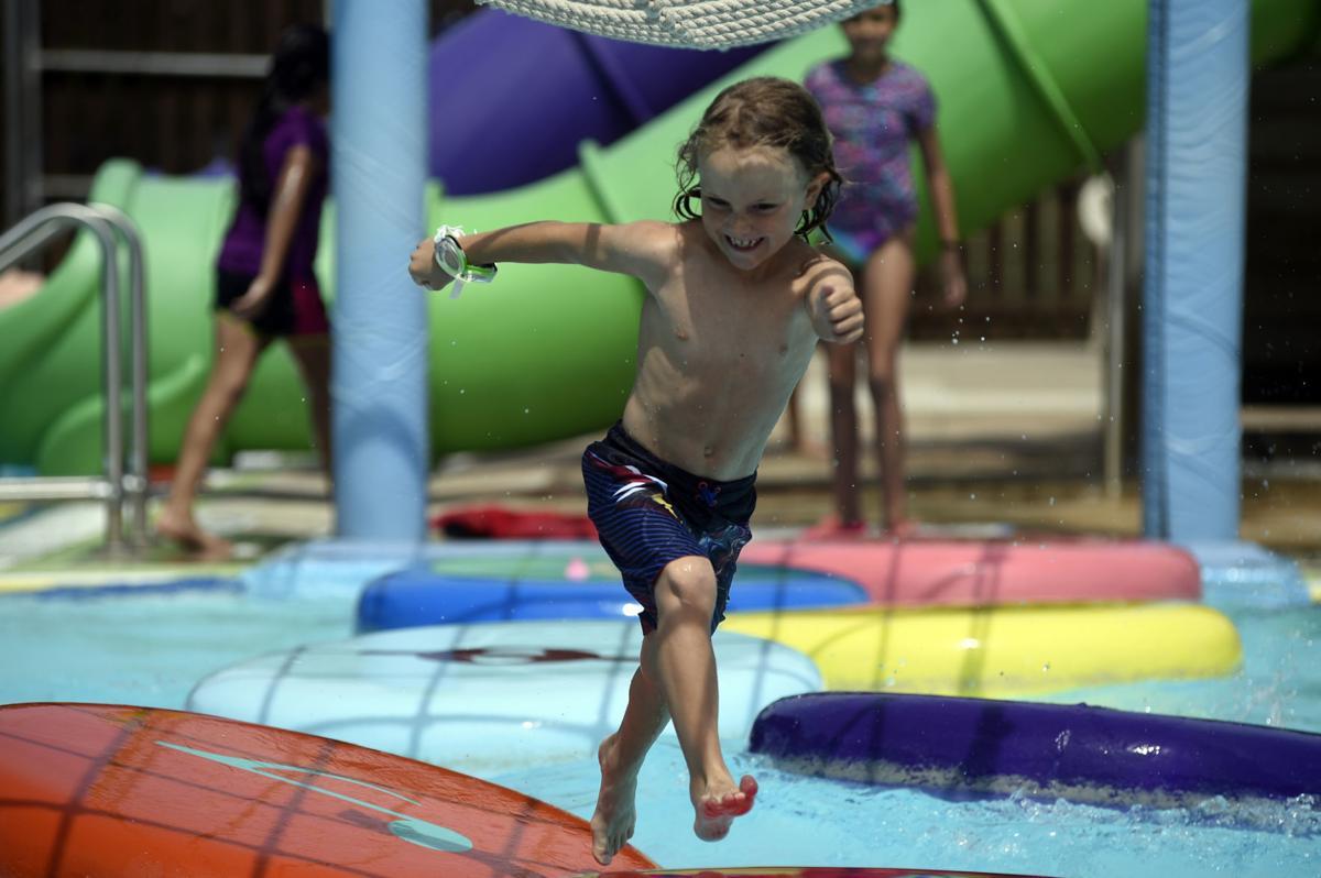 Heat continues as denton sets same day record high of 109 - Denton swimming pool denton manchester ...