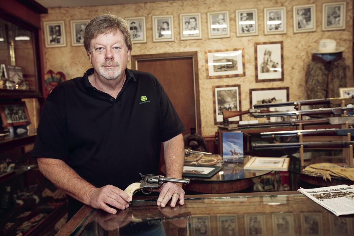 Collection Of Historic Cowboy Memorabilia Turns Shopping