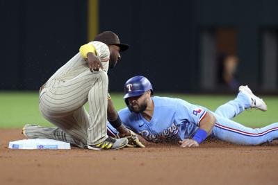 Padres Rangers Baseball