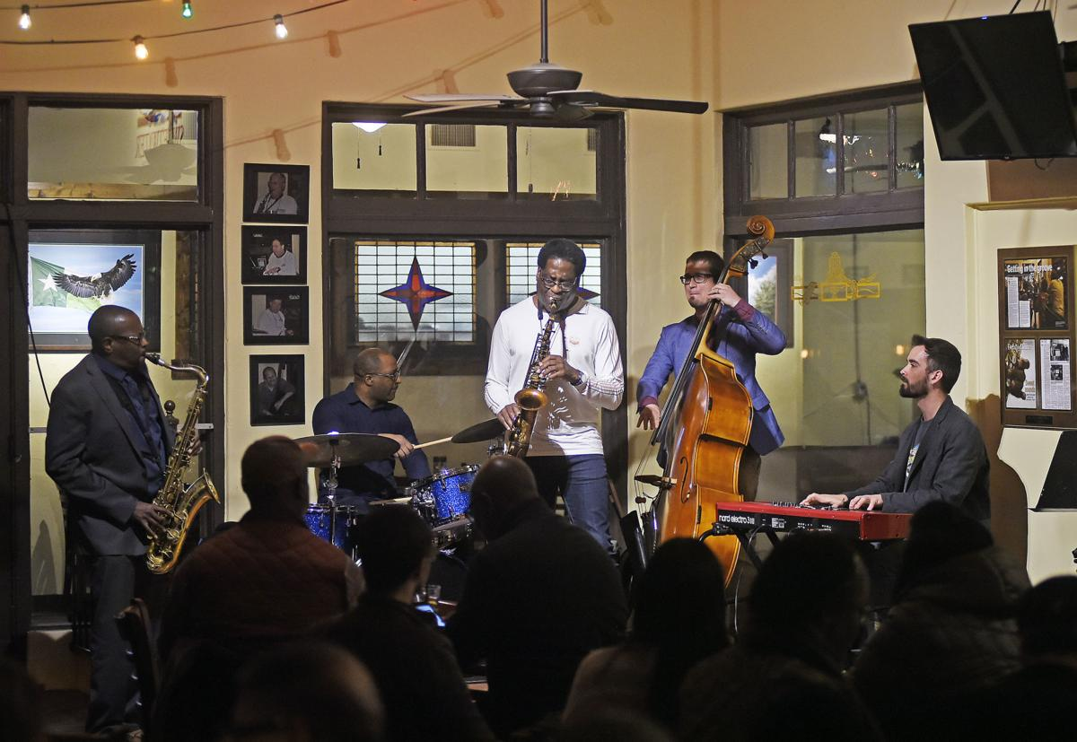 Brad Leali and musicians at 2020 DBF
