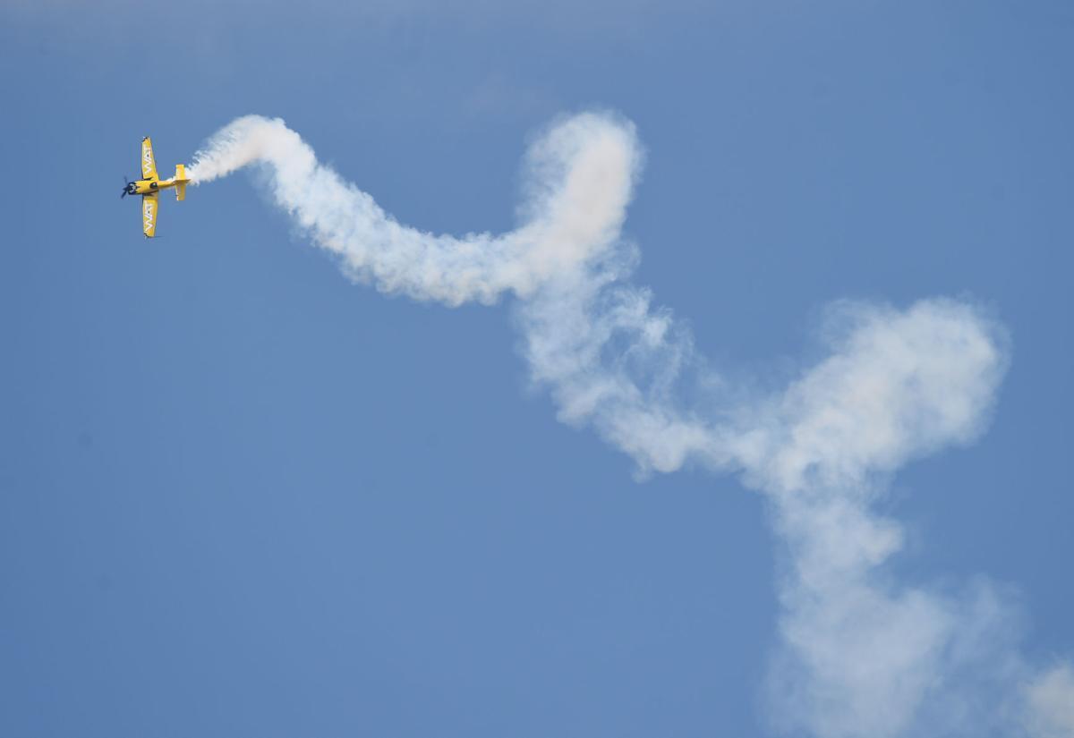 Aerobatic stunts