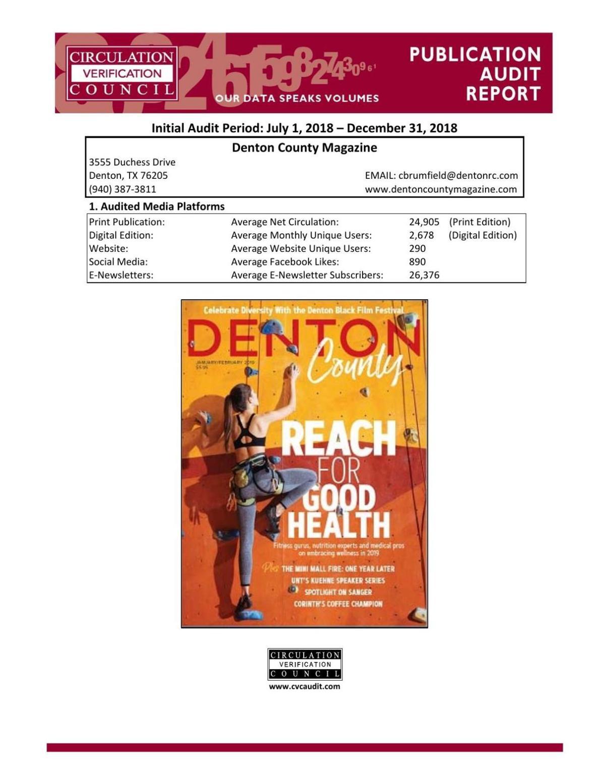 Publication Audit Report