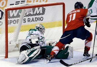 Trocheck scores shootout winner as Panthers edge Stars 4-3