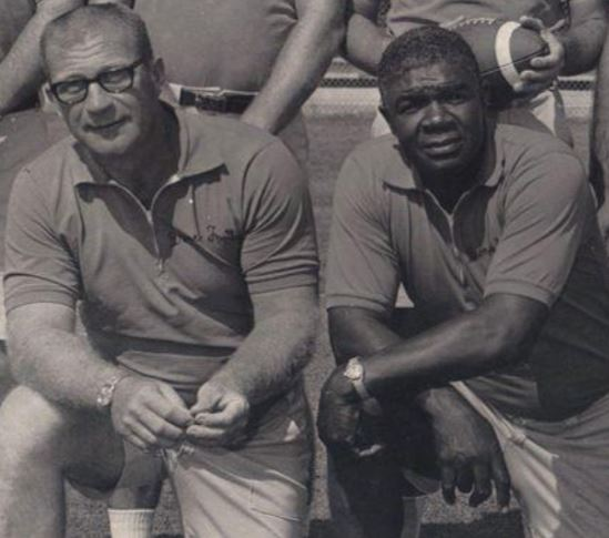 Carrico and Collins in 1972