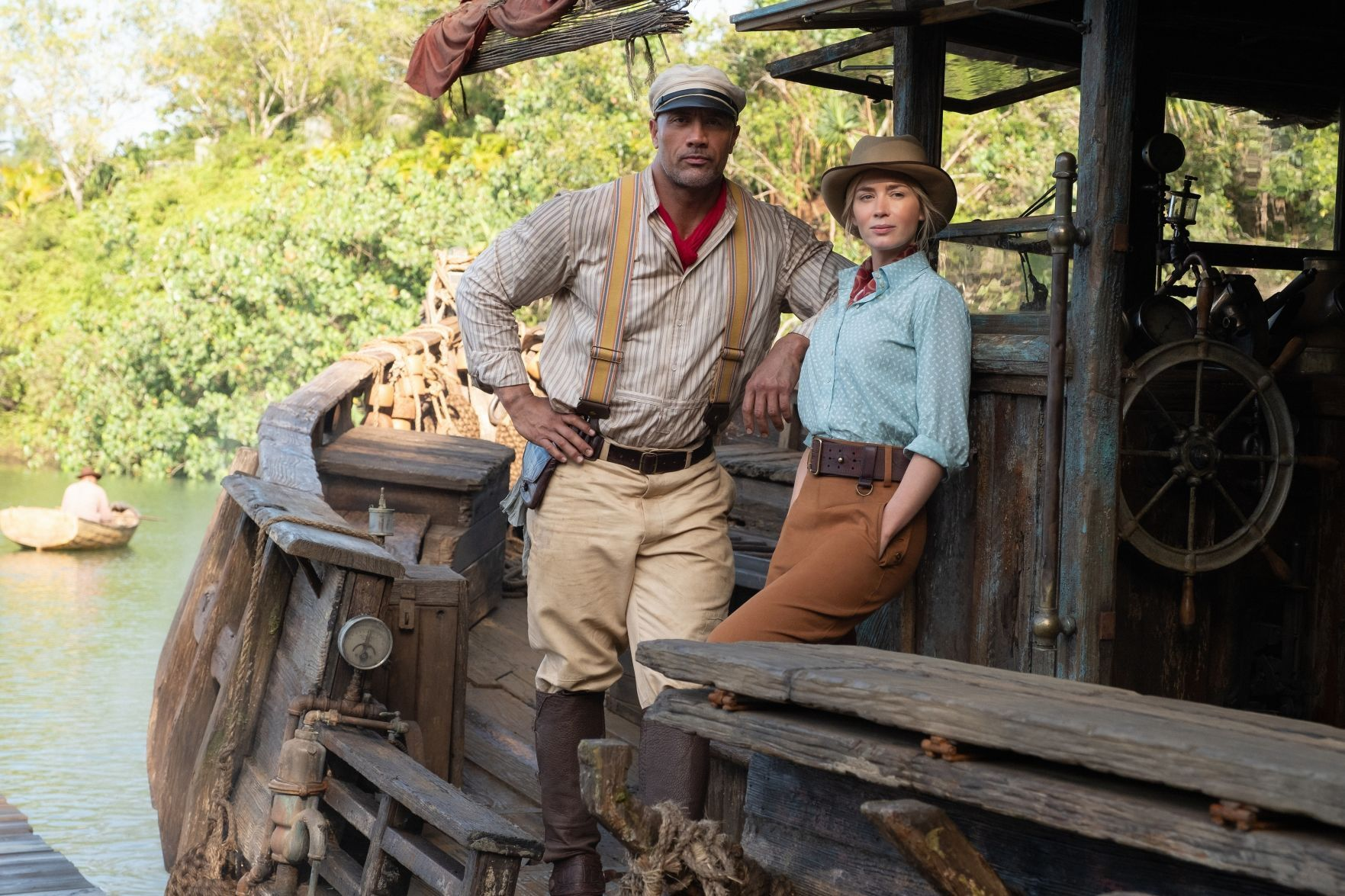 'Jungle Cruise' a hearty slice of cheesy humor that rides a fun, action-filled wave