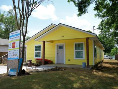Habitat Denton 104th home