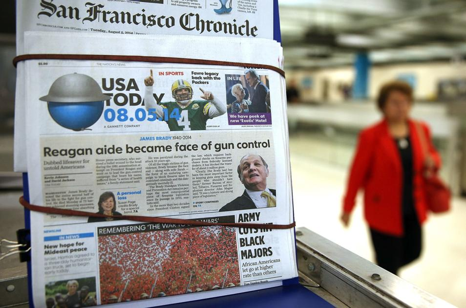 Gannett finalizes deal to become nation's largest newspaper publisher, setting stage for $300 million in cuts - Denton Record Chronicle