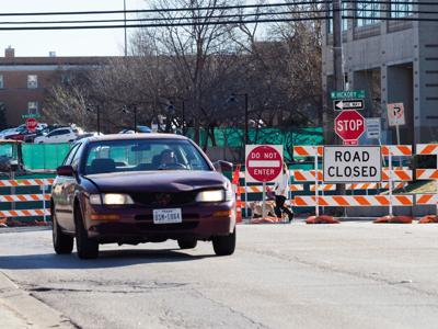 Hickory Street barricades