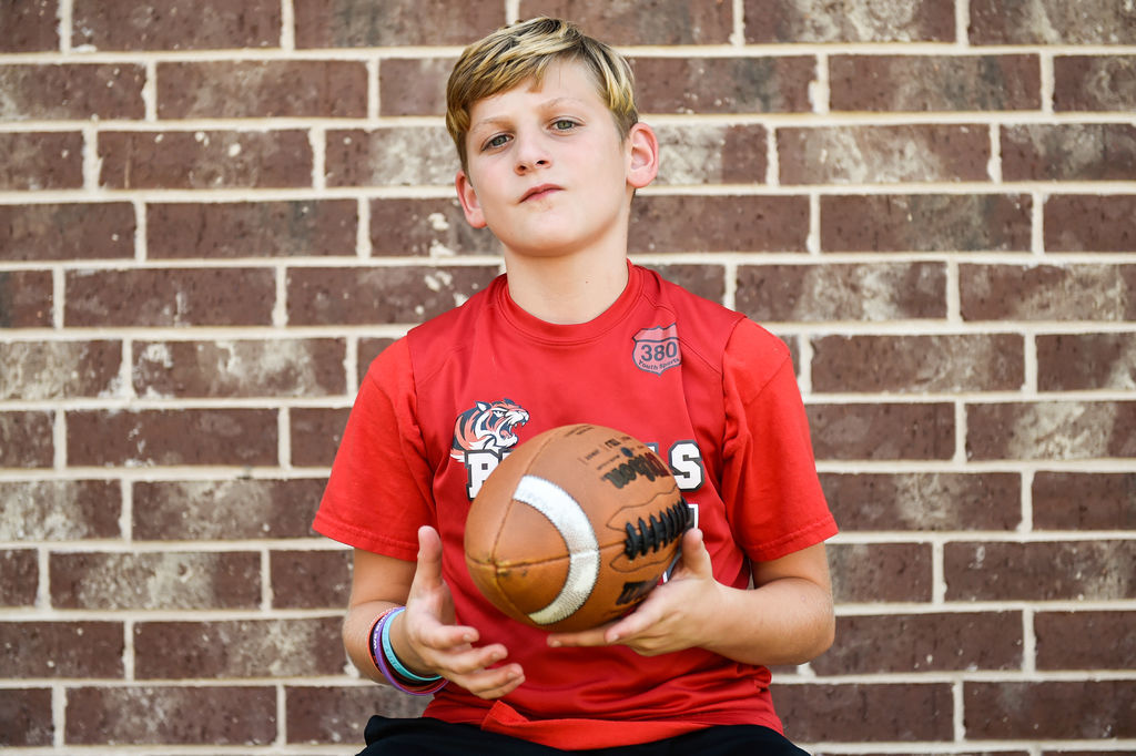 8f49a071 Young gun: Local youth to attend Pro Football Hall of Fame Academy ...