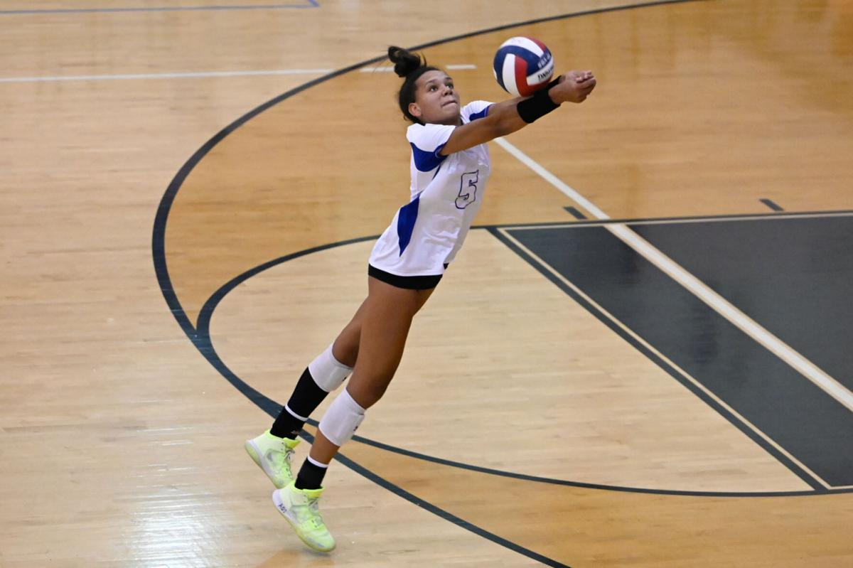 Guyer's Kyndal Stowers, Sept. 14 game
