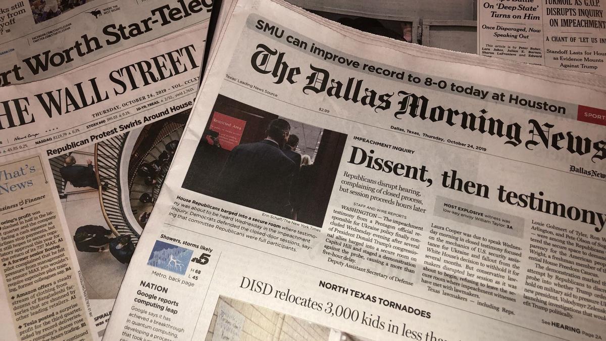 Newspaper scam