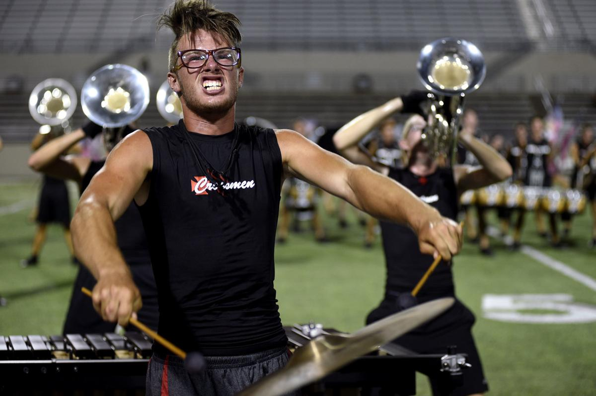 Marching Music S Major League Hits Denton For Evening