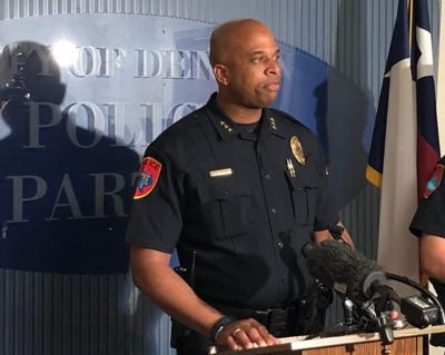 Denton PD press conference