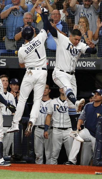 APTOPIX ALDS Astros Rays Baseball