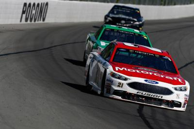 Blaney wins 1st career NASCAR Cup race at Pocono Raceway