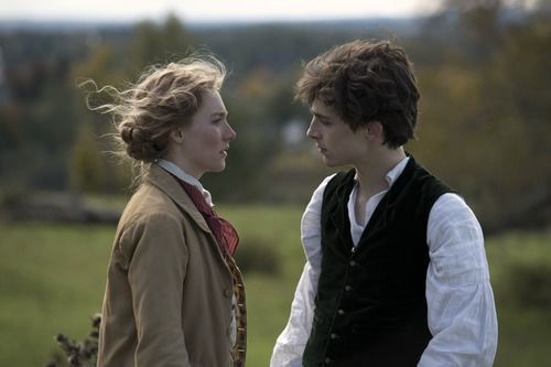 Jo (Saoirse Ronan) and Laurie (Timothée Chalamet)