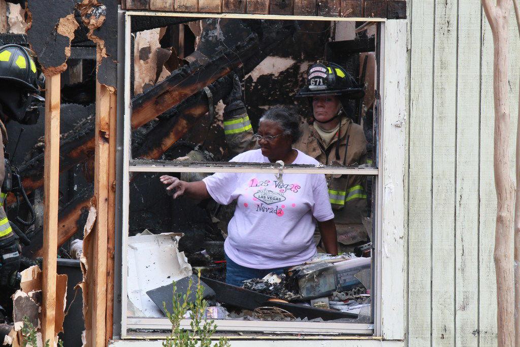 Fire destroys longtime Sanger resident's home