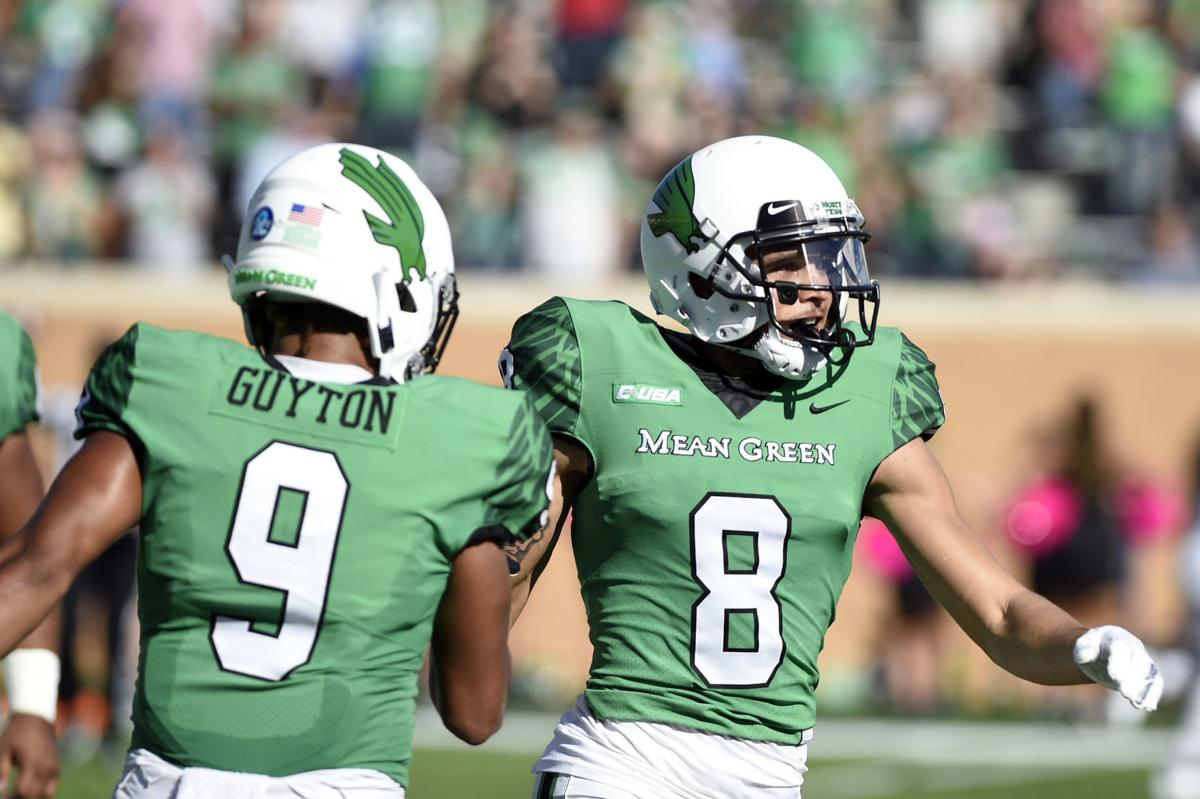 wholesale dealer cbcbc ec83c Where UNT stands at wide receiver following loss of Guyton ...