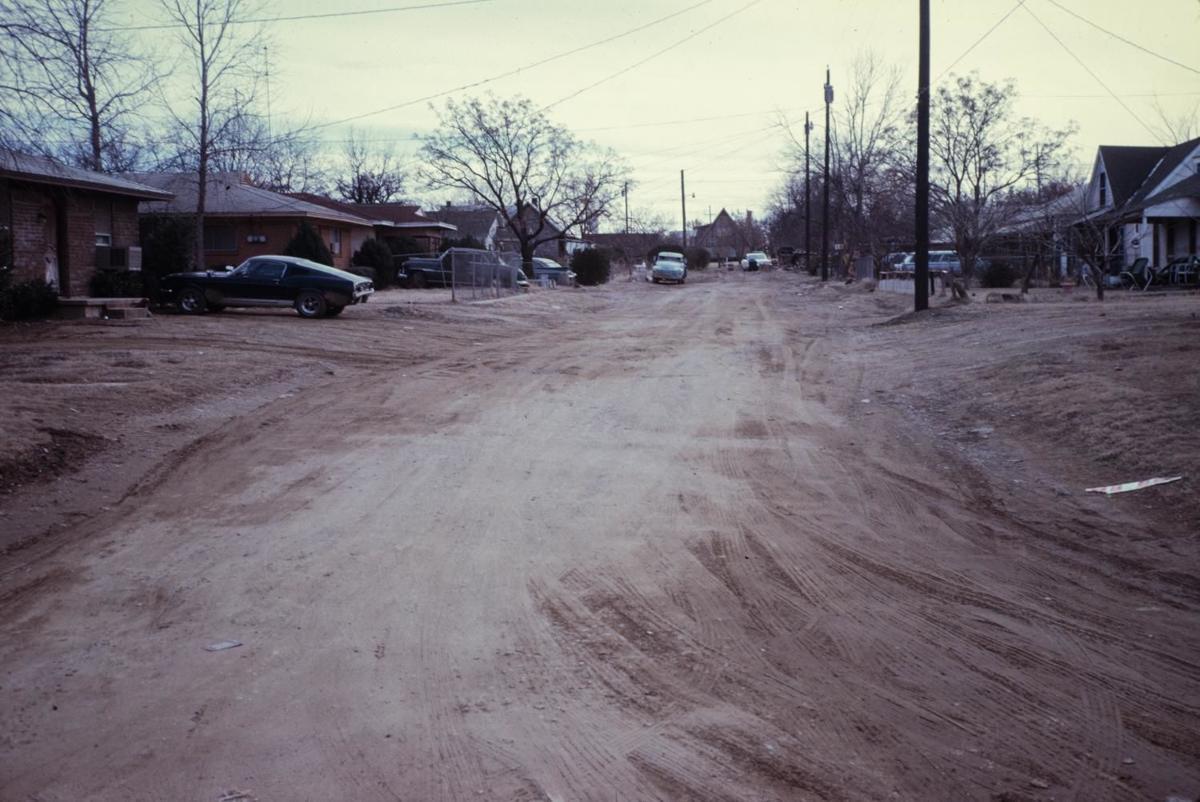 Southeast Denton in 1970