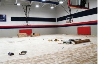Aubrey Middle School gym