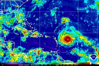 Record breaking Hurricane Irma bears down on Caribbean