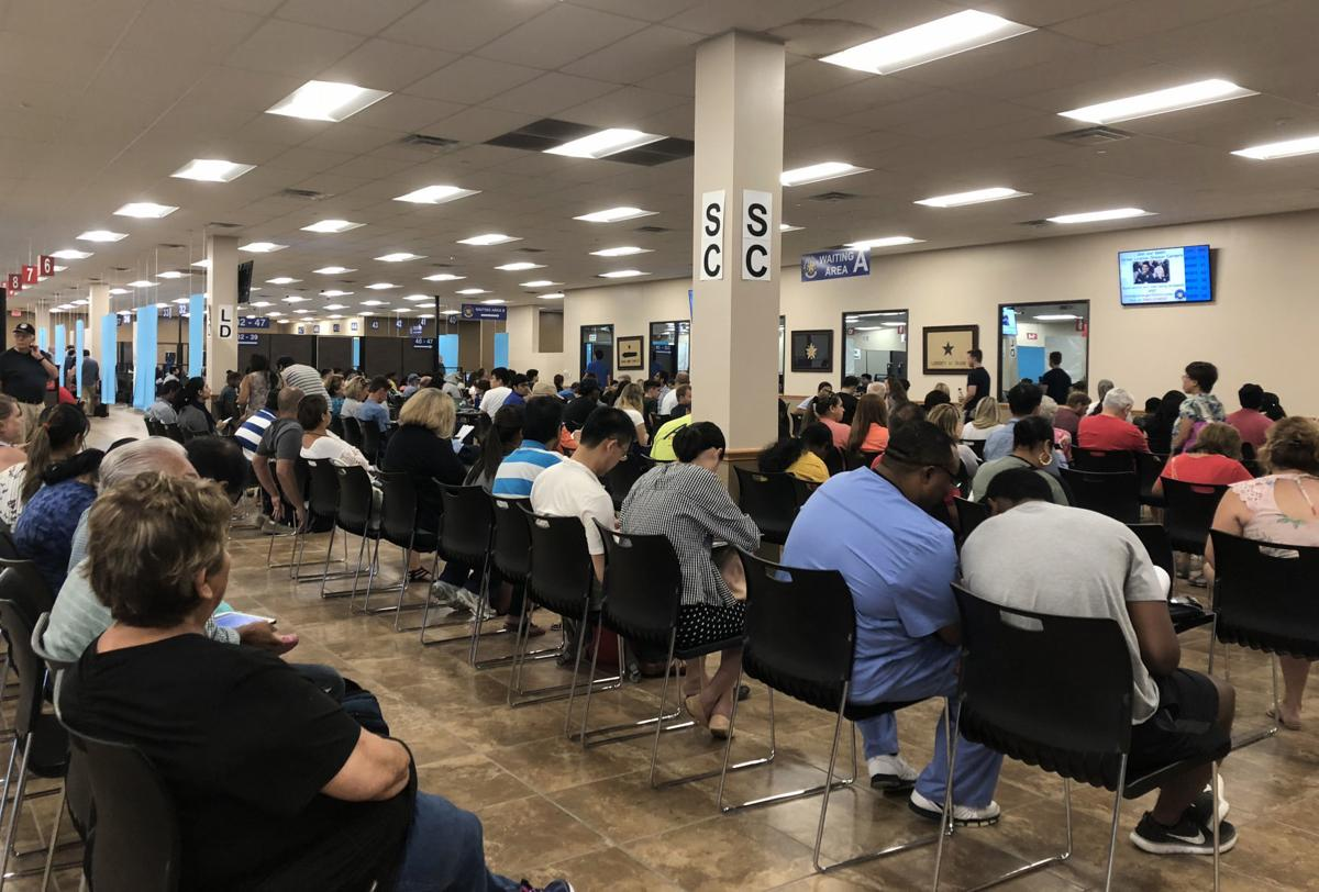 Drivers steamed by long waits for licenses | Denton County