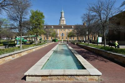 University of North Texas Hurley Administration Building for stock use only