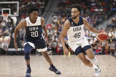 USA Basketball Scrimmage