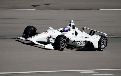 New Indy cars tested in Fort Worth