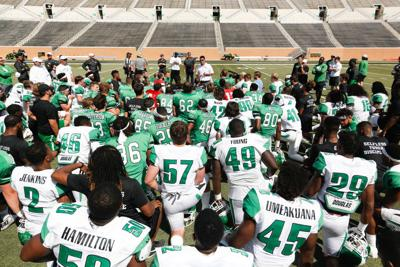 UNT depth chart