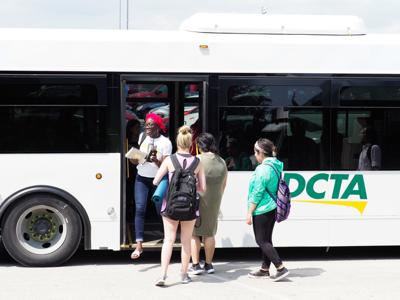 DCTA buses