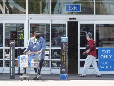 Walmart on Loop 288 Open