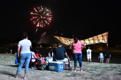 Fireworks at Apogee