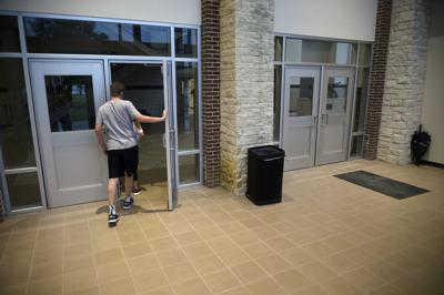 Guyer High School entrance