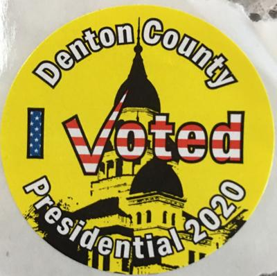 Election 2020 sticker