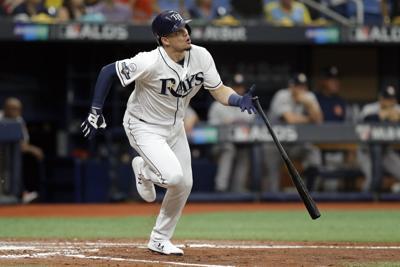 ALDS Astros Rays Baseball