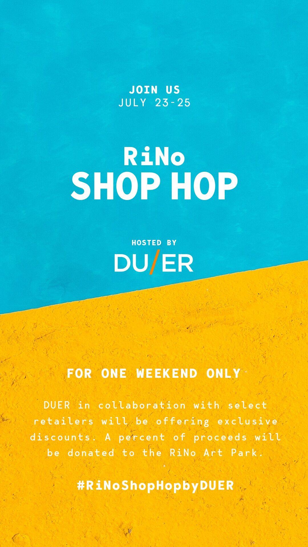 Shop Hop Event