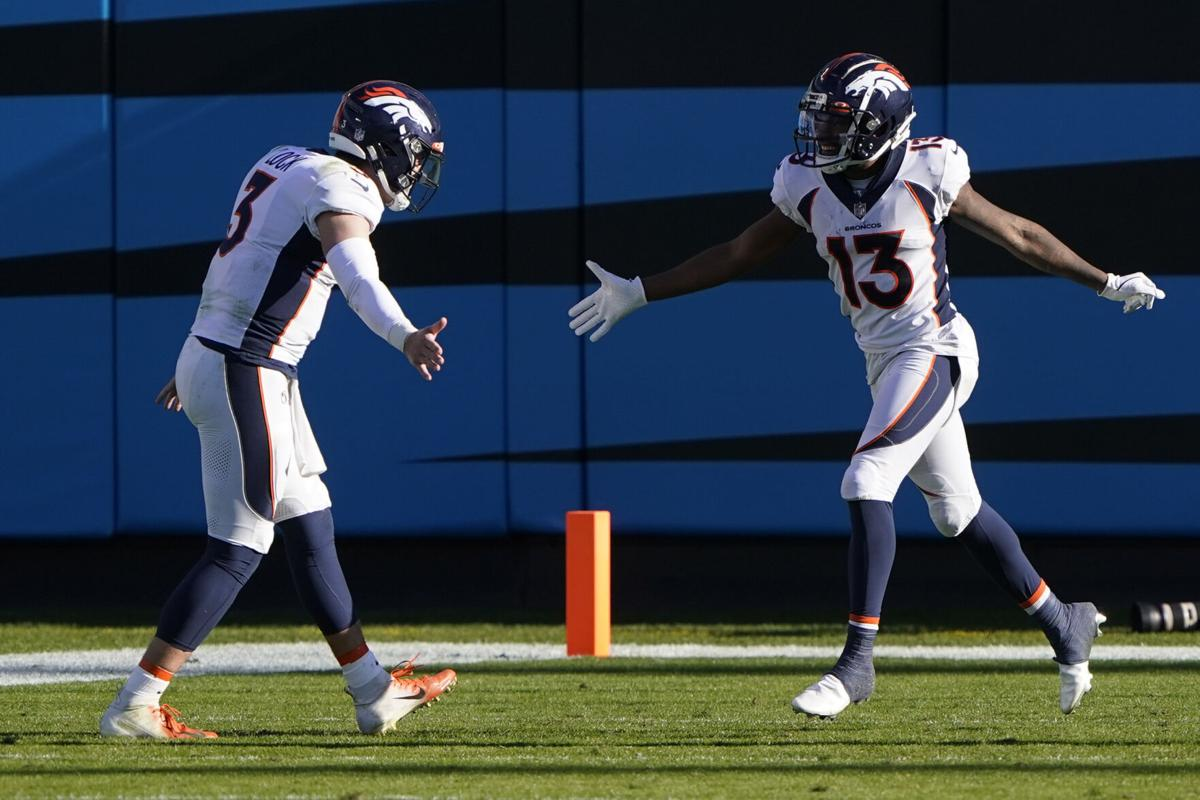 Broncos Panthers Football
