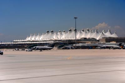 Denver International airport DIA